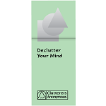 Declutter Your Mind Leaflet